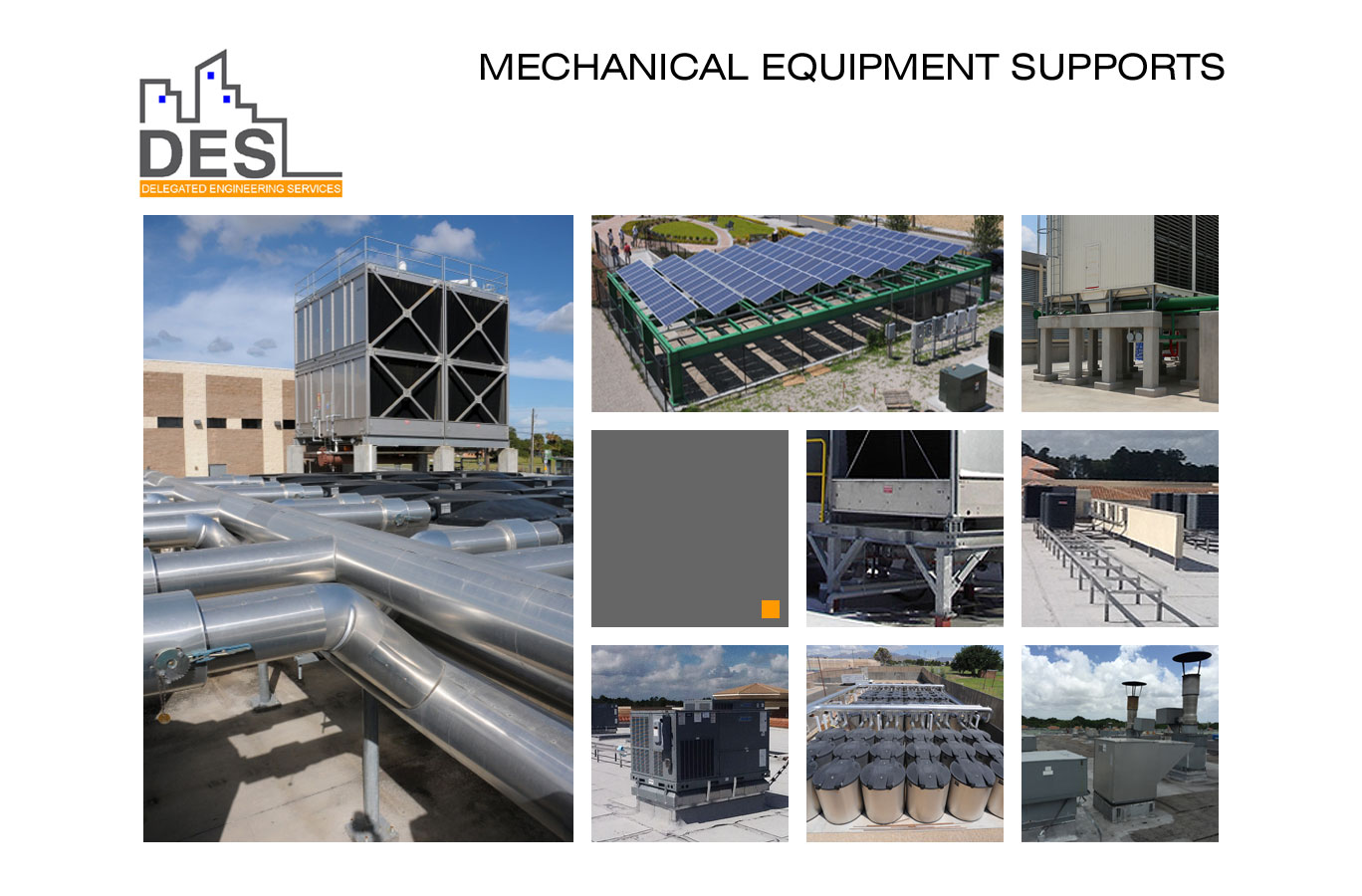 Loading DES Mechanical Equipment Supports...